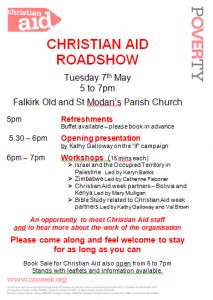 Christian Aid in Falkirk Old and St Modan's Parish Church